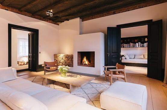 Chic Modern Apartment Of A Fashion Designer - DigsDi
