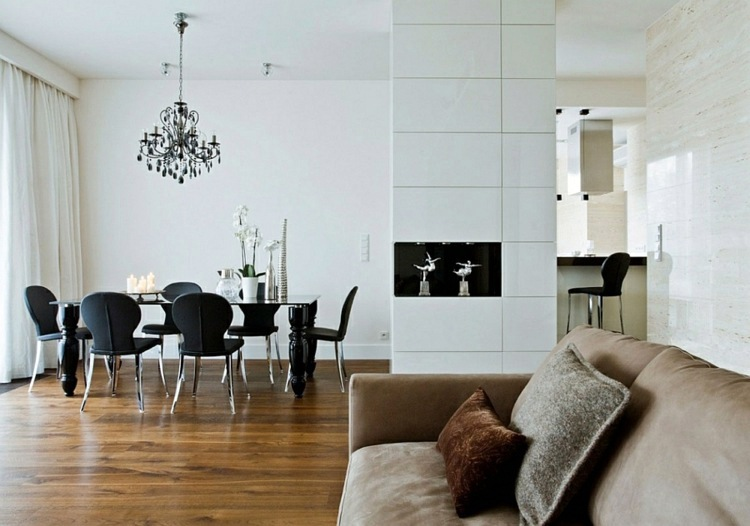 Cool Decorating tips – a chic, modern apartment in Warsaw .