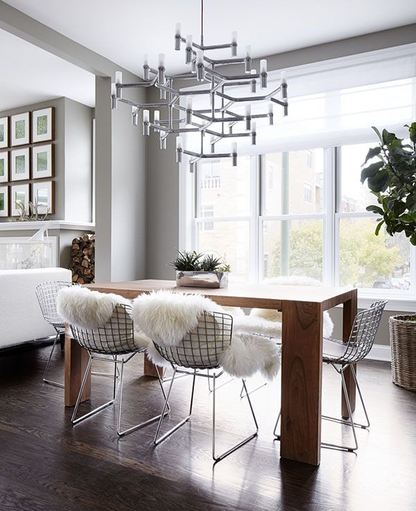 Chic and modern apartment interiors in Chicago | Modern apartment .