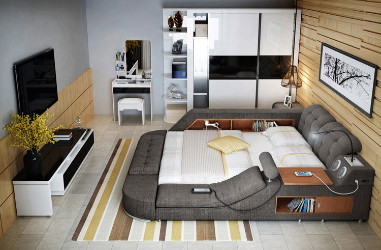 Unusual Furniture Design: These Super-Beds from China Come Loaded .