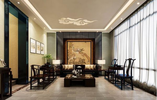 20 Chinese Home Decoration in the Living Room | Home Design Lover .