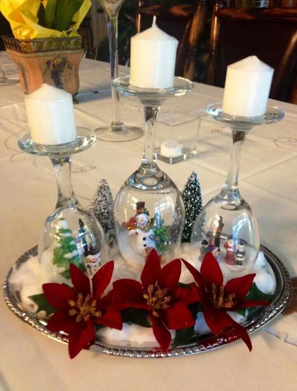 Most Beautiful Christmas Table Decorations Ideas   Christmas .