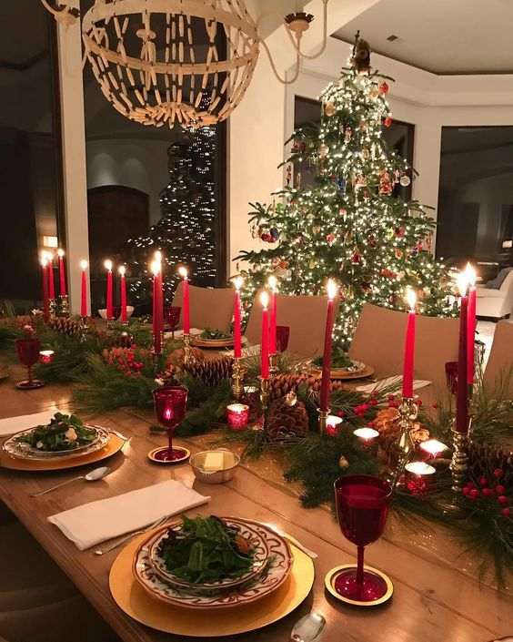 60+ Best Christmas Table Decor ideas for Christmas 2019 where .