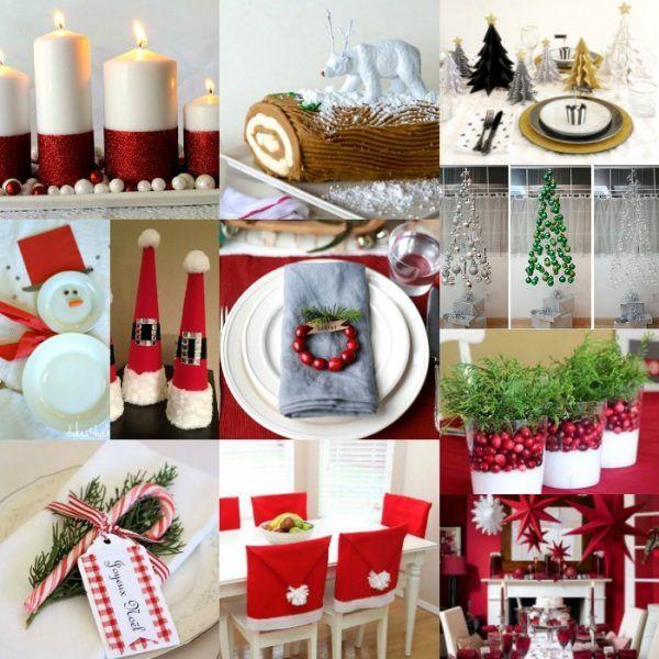 DIY Christmas Table Decorations - 15 Christmas Table Decoration .