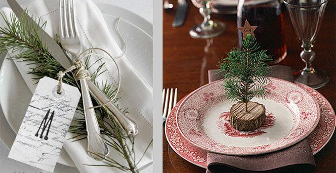 Rustic Christmas Table Decorating Ideas   Wayfa