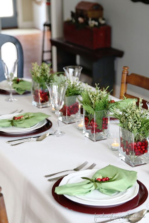 6 Simple Christmas Table Ideas (Perfect for Last Minute .
