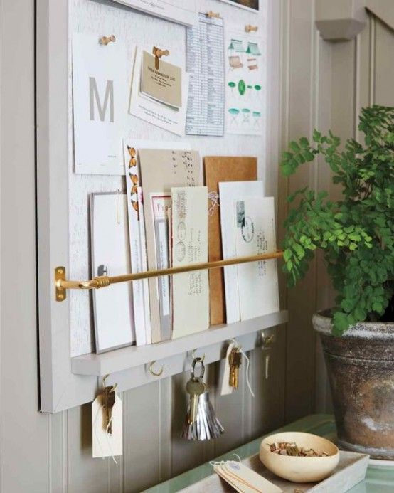 35 Clever Examples To Organize Your Entryway Easily | Home diy .