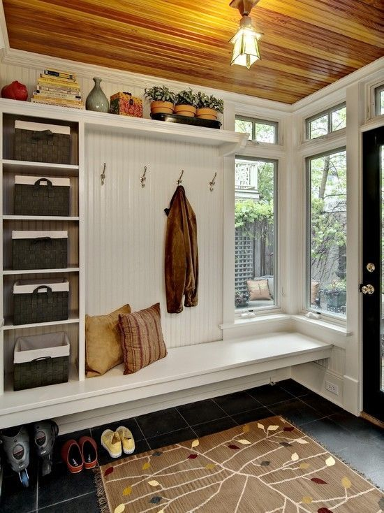 35 Clever Examples To Organize Your Entryway Easily | 현관 디자인 .