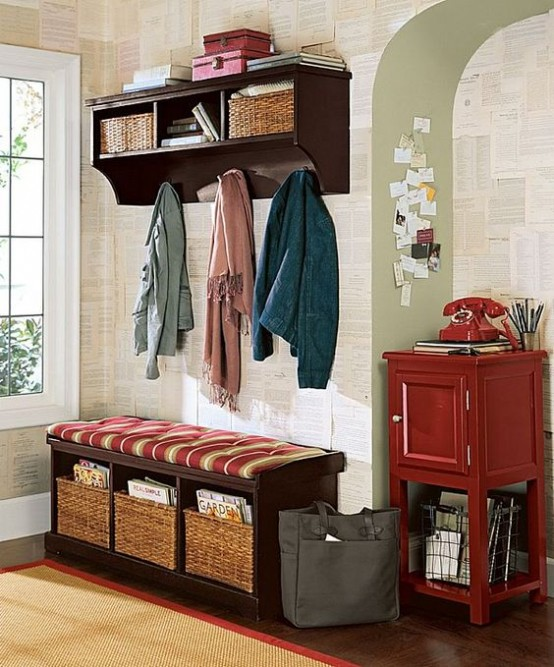 35 Clever Examples To Organize Your Entryway Easily - DigsDi