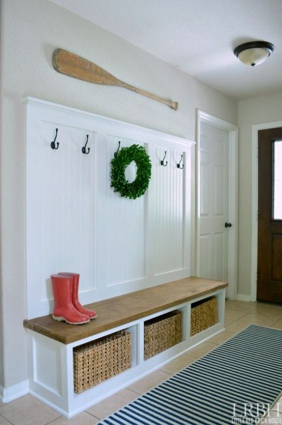 35 Clever Examples To Organize Your Entryway Easily - DigsDigs .