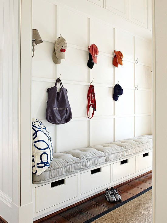 35 Clever Examples To Organize Your Entryway Easily | Mudroom .