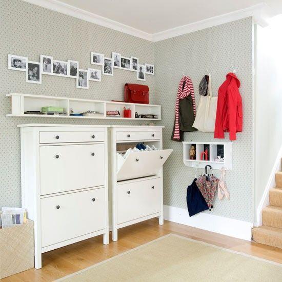 75 Clever Hallway Storage Ideas | Haus deko, Ikea-ideen, Ideales ha