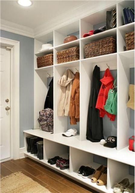 63 Clever Hallway Storage Ideas | DigsDigs | Hallway storage .