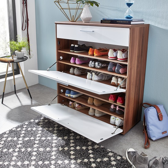 Clever Ideas For Organising Your Hallway Shoe Stora