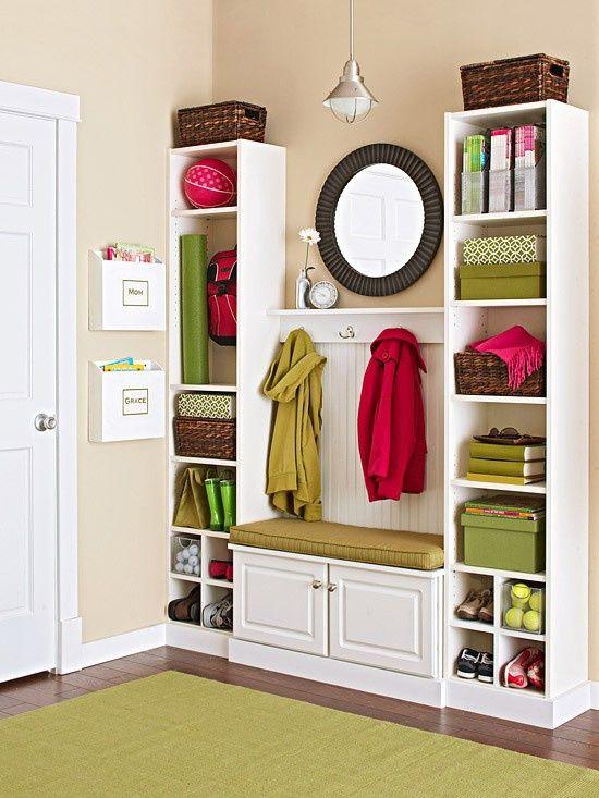 63 Clever Hallway Storage Ideas | DigsDigs | Home, Home diy, Home .