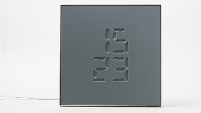 A Swiss clock that engraves time in a very class way : Luxurylaunch