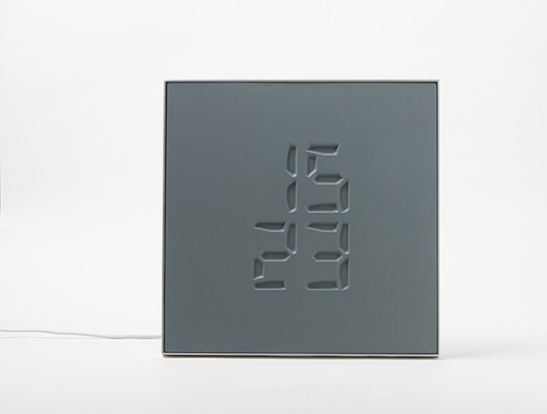 ETCH Clock That Engraves Time In A Sculptural Way - DigsDi