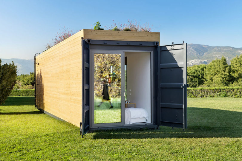 Live That Luxe Life in a Shipping Container from Cocoon Modul