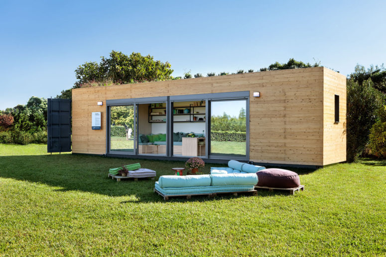 Cocoon Module Prefab Home For Nomads - DigsDi