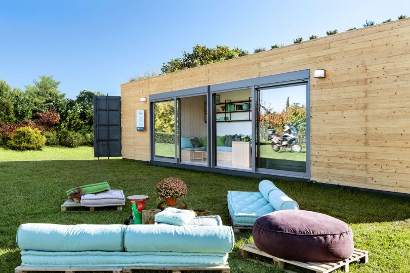 Live That Luxe Life in a Shipping Container from Cocoon Modules .