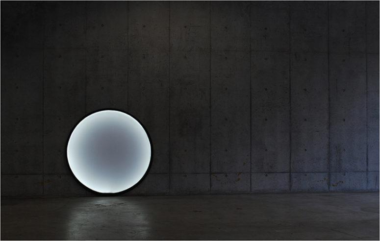Collapsible Moon Lamp Unfolds Like Photo-Reflectors - DigsDi