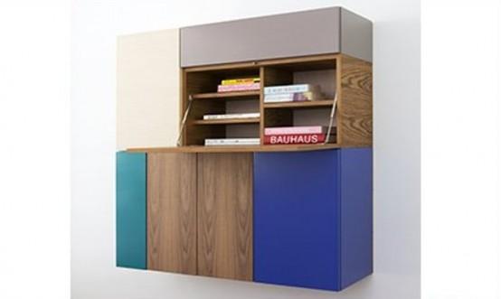 Colorful And Flexible Minimalist LMNTS Sideboard - DigsDi
