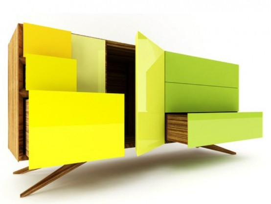 colorful sideboards Archives - DigsDi