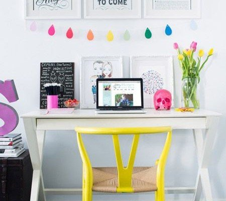 Top 5 Colorful Home Office Design Ide