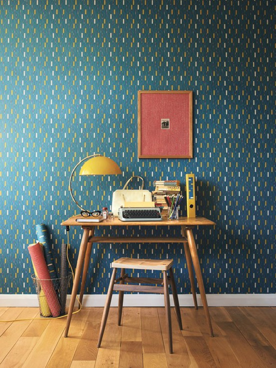 23 Colorful Home Office Design Ideas | Ingenious Lo