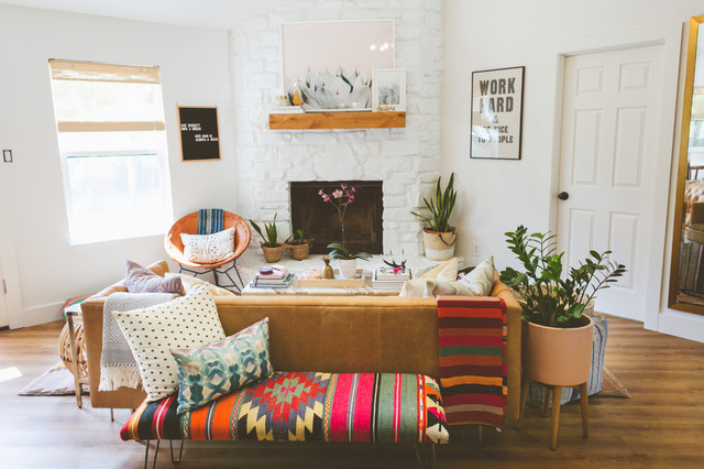 My Houzz: Sweet Pink Touches and Colorful Boho Style in Aust