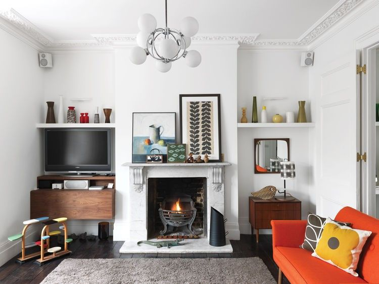 Colorful Mid Century Modern Home With Victorian Touches | Home .