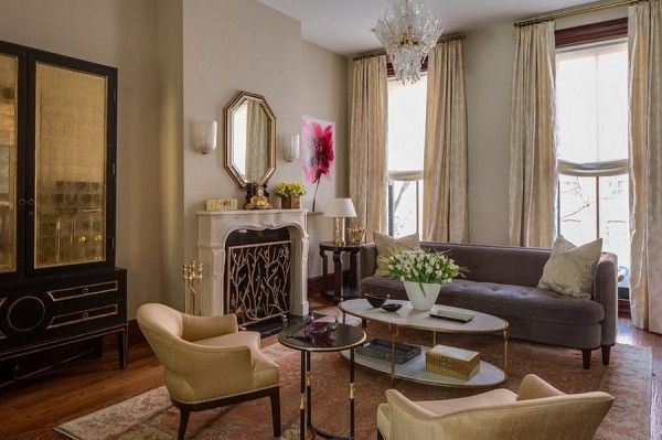Colorful New York Home With Chic Feminine Charm | Living room new .