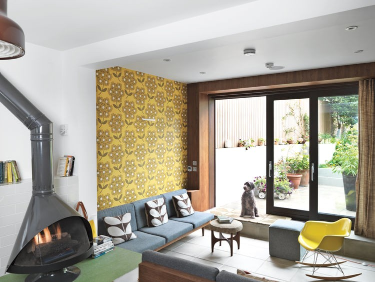 Colorful Mid-Century Modern Home With Victorian Touches - DigsDi