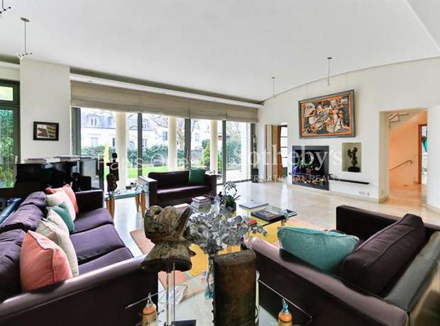 Celine Dion Lists Colorful Paris Mansion For $9.5M - House & Ho