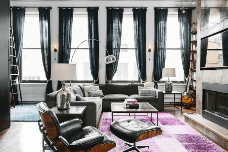19 Undeniably Cool Living Rooms That We Want to Copy ASAP | Loft .