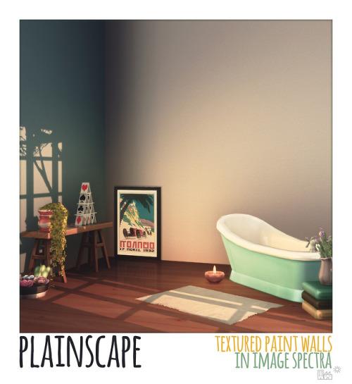 amoebae - Plainscape Textured Paint Wall in Image Spectra; amoebae .
