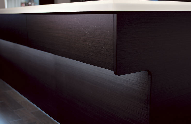 Combine Kitchen and Living Room with Cuisia by TOTO - DigsDi