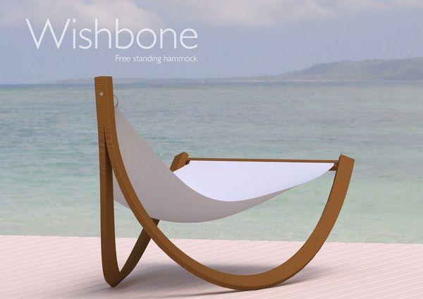 Wishbone by Ben Nicholson, via Behance | Patio hammock, Hammock .