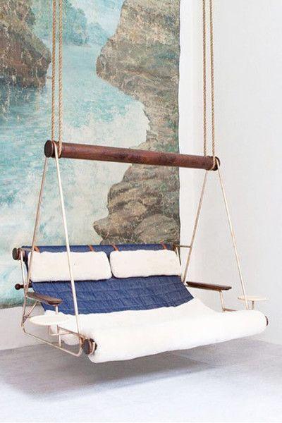 Hybrid Lounge (avec images) | Banquette jardin, Chaise suspendue .