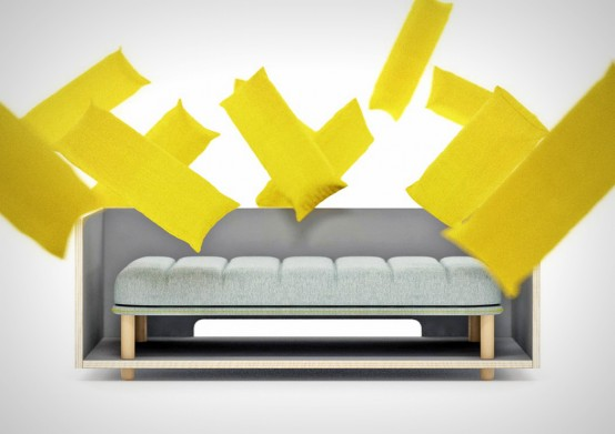 Comfy And Customizable Re Cinto Sofa Resembling French Fries .