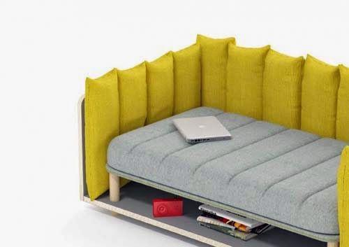 Modern Re Cinto Sofa Design by Davide Anzalone | Sofa design, Sofa .