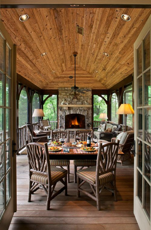 36 Comfy And Relaxing Screened Patio And Porch Design Ideas - DigsDi