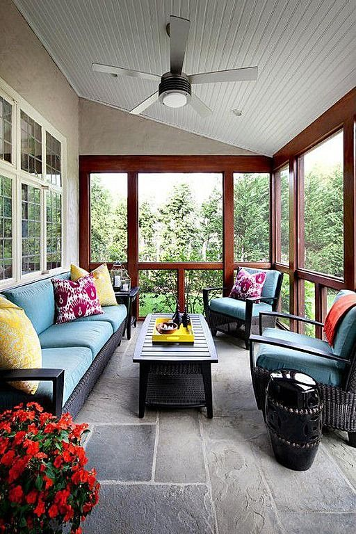 36 Comfy And Relaxing Screened Patio And Porch Design Ideas | Home .