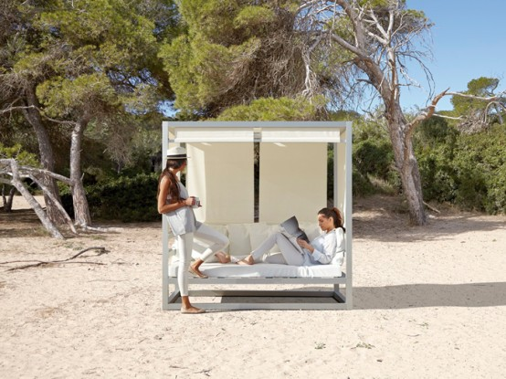 Comfy And Stylish Outdoor Furniture By Gandía Blasco - DigsDi