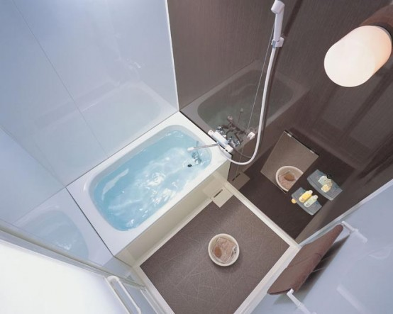 Compact and Small Bathroom Layouts from INAX | Bathroom Design Ide