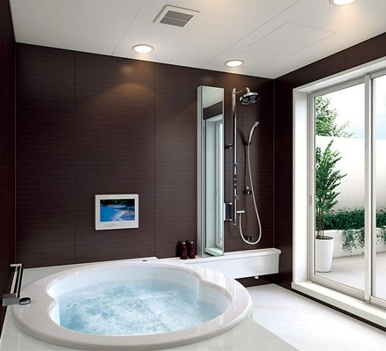 Modern Small Bathroom Layouts from INAX | Bathroom design small .
