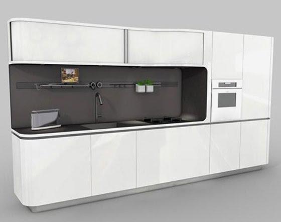 Mini and Simple Kitchen Design by Veneta Cucine   Home Design and .