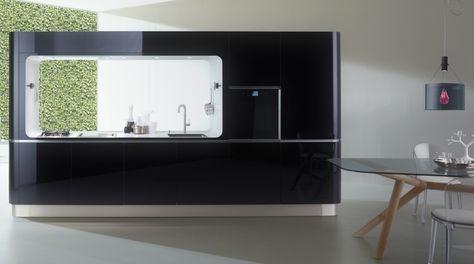Immagine della cucina LIQUIDA FRAME   Küchen design, Küchendesign .