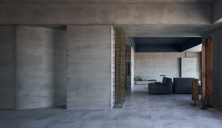 Minimalism at Its Best with the 'Blue Eye' Apartment [Taiwa
