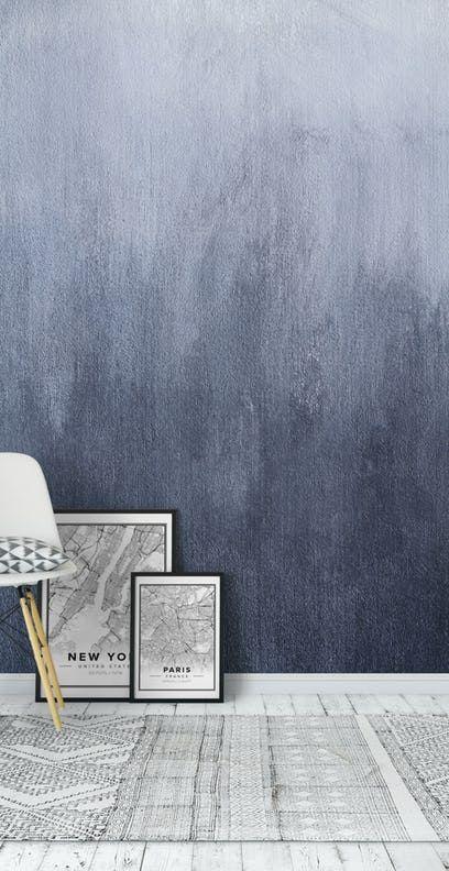 Ombre blue concrete Wallpaper | Concrete wallpaper, Concrete wall .